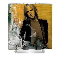 Tom Petty Collection Shower Curtain