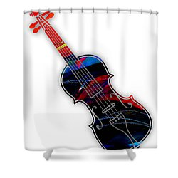 Violin Collection Shower Curtain