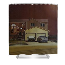 15698 168th Ave. S.e. Shower Curtain by Thu Nguyen