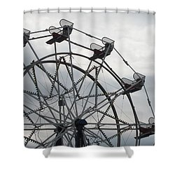 15th Street Ferris Wheel Shower Curtain