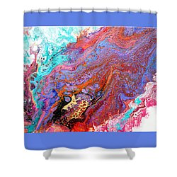 #1639 Burning Desire Shower Curtain