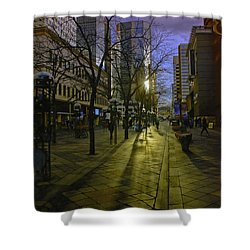 16th Street Mall Shower Curtain