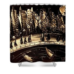 Jazz Shower Curtain by Mark Kazav