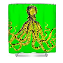 New Upload Shower Curtain by Gillis Cone