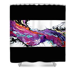 #1706 Twisted Shower Curtain
