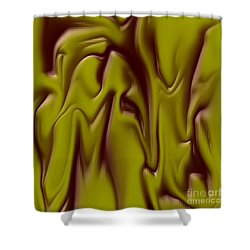 1710 Abstract Thought Shower Curtain