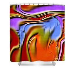 1765 Abstract Thought Shower Curtain