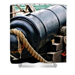 1776 Philadelphia II Canon Shower Curtain