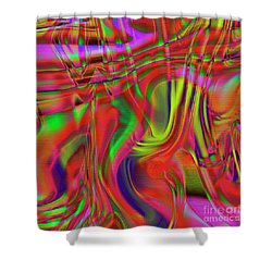 1799 Abstract Thought Shower Curtain