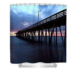 17th St. Virginia Beach, Va. Shower Curtain