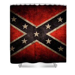 Confederate Flag 7 Shower Curtain