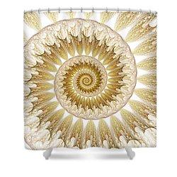 18 Karat Shower Curtain