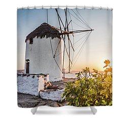 Mykonos / Greece Shower Curtain