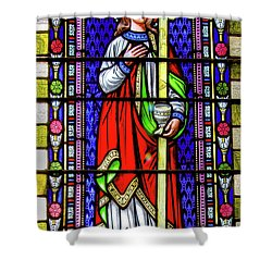 Saint Anne's Windows Shower Curtain