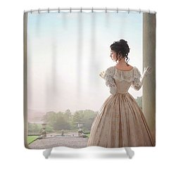 Victorian Woman Shower Curtain by Lee Avison