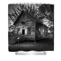 1800's Florida Church Shower Curtain by Marvin Spates