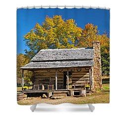 1890's Farm Cabin Shower Curtain