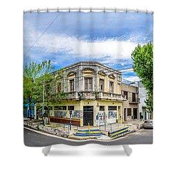 1899 Shower Curtain