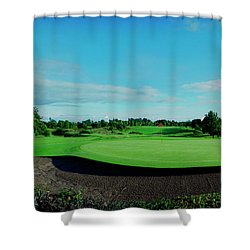 18th Bunker Shower Curtain