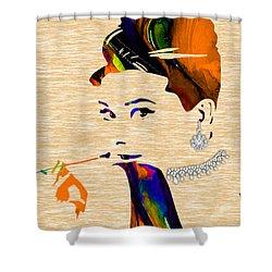 Audrey Hepburn Collection Shower Curtain