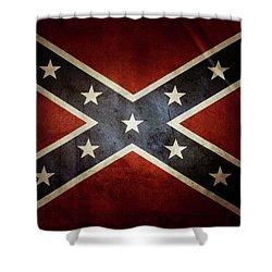 Confederate Flag 12 Shower Curtain