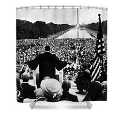 Martin Luther King Jr Shower Curtain by American School