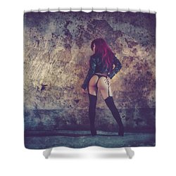 Shower Curtain featuring the photograph Pretty Things Are Going To Hell by Traven Milovich