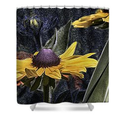 Thinking Of Vincent Van Gogh Shower Curtain