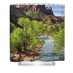 Zion National Park Shower Curtain