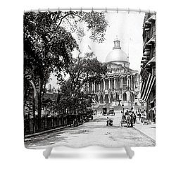1900 Summer In Boston Massachusetts Shower Curtain