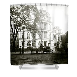 1905 Boston City Hall Shower Curtain