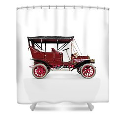 1908 Mclaughlin Buick Model F Vintage Car Shower Curtain