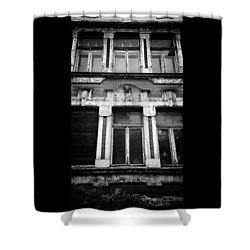 1909  #ndh #nordhausen #nokia Shower Curtain
