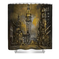 1910y Madison Avenue Ny. Shower Curtain