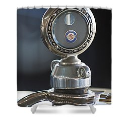 1916 Packard Hood Ornament  Shower Curtain by Jill Reger