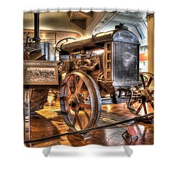 1917 Model 1 Fordson Tractor Dearborn Mi Shower Curtain