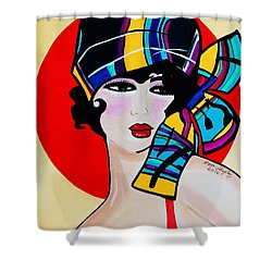 1920's Girl Anna Shower Curtain