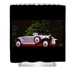 1921 Farman A6b Super Sport Torpedo Shower Curtain