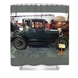 1923 Model T Coupe Shower Curtain