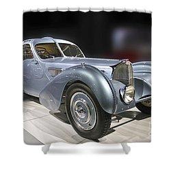 1926 Bugatti Shower Curtain