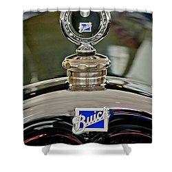 1926 Buick Boyce Motometer Shower Curtain by Jill Reger