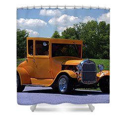 1926 Ford Hot Top T Hot Rod Shower Curtain by Tim McCullough