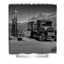 1927 Dodge Graham B And W Shower Curtain