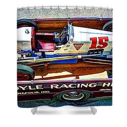 1927 Miller 91 Rear Drive Racing Car Shower Curtain