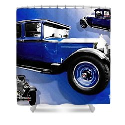 1927 Packard 526 Sedan Shower Curtain