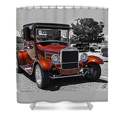 1928 Ford Coupe Hot Rod Shower Curtain