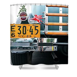 1929 Ford 2058 Shower Curtain by Guy Whiteley