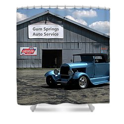 1929 Ford Roadster Shower Curtain