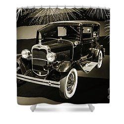 1930 Ford Model A Original Sedan 5538,16 Shower Curtain