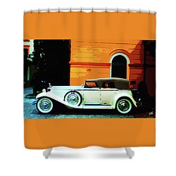 1930 Isotta-fraschini Shower Curtain